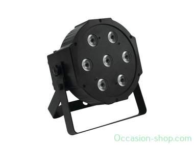 MG CP712 QCL 7 x 12W 4in1 LED flat par with RGBW color mixing