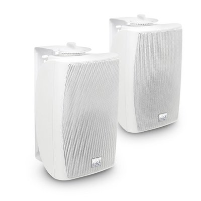 "LD Systems Contractor CWMS 42 W 4"" 2-way wall mount speaker white (pair) 100V"