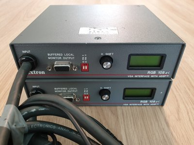 Extron RGB 109xi Dedicated Computer-Video and Audio Interface with ADSP