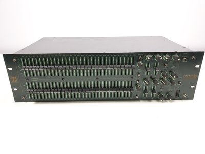 "LA audio 231G-SP dual 31 band 1/3 octave graphic equalizer 19"" 3U"